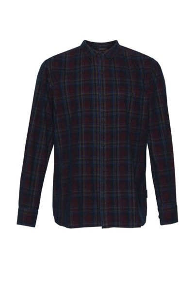 French Connection Kink Folds Corduroy Shirt
