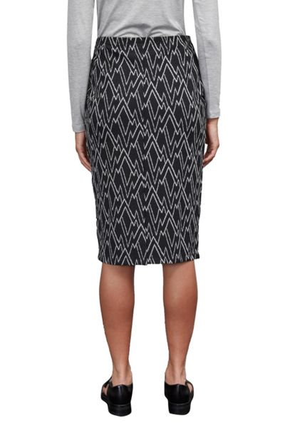 Great Plains Zig Zag Ottoman Tube Skirt