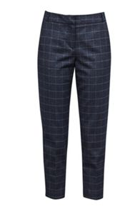 Great Plains Katrina Check Tailored Trousers