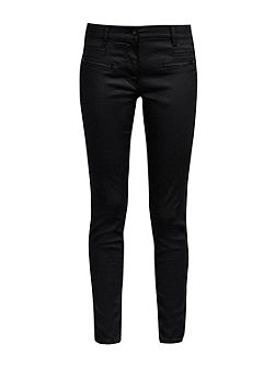 Slick Rick Coated Denim Skinny Jeans