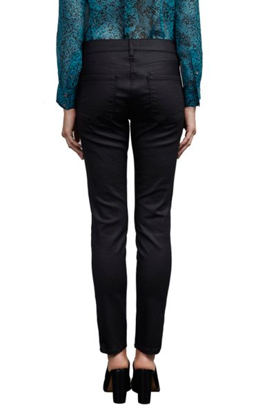 Great Plains Slick Rick Coated Denim Skinny Jeans