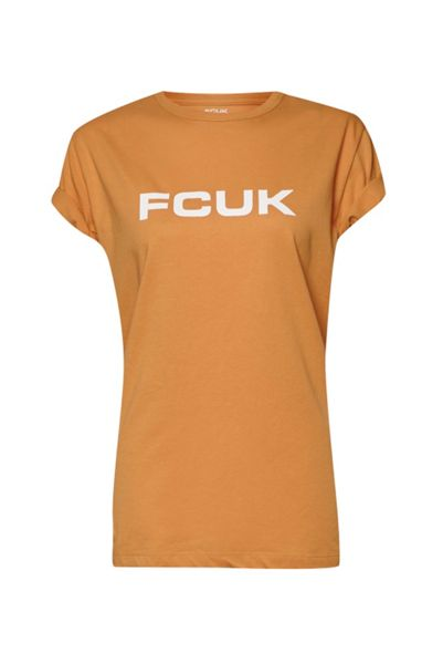French Connection FCUK Bold Slogan T-Shirt
