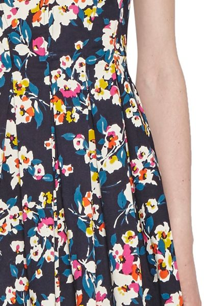 French Connection River Daisy Flared Dress