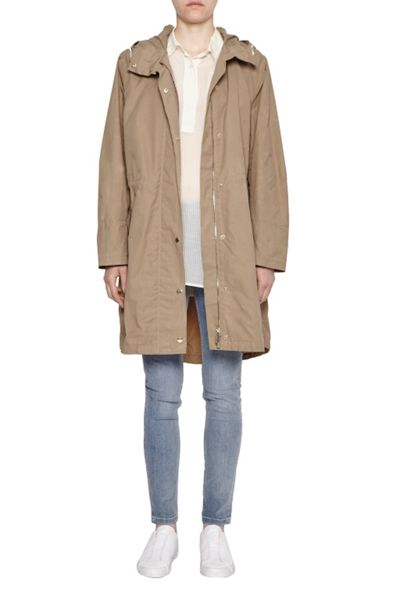 French Connection Harbour Hooded Parka Coat