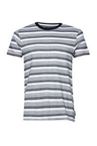 French Connection Coal Jacquard Stripe T-Shirt