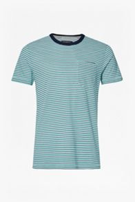 French Connection Mudstone Mini Stripe T-Shirt