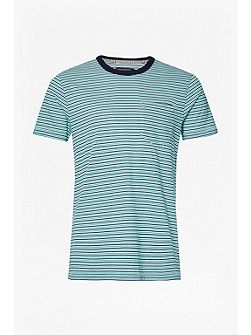 Mudstone Mini Stripe T-Shirt