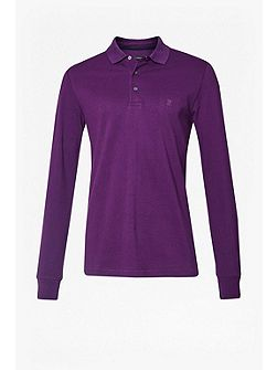 AW16 Brunswick Long Sleeve Polo Shirt