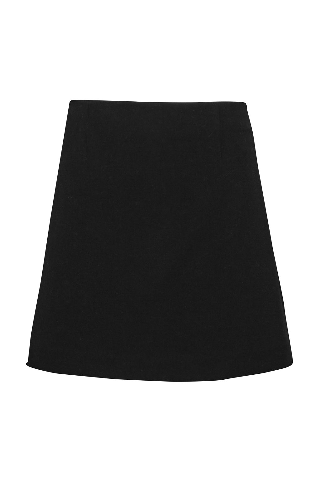 French Connection Sundae Suiting Mini Skirt, Black