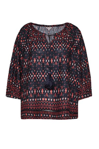 Great Plains Tarim Ladder Lace Detail Blouse