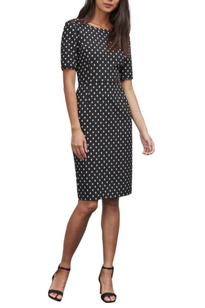 Great Plains Ikat Spot Stretch Pencil Dress
