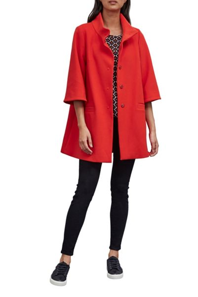 Great Plains Chester Bell Sleeves Swing Coat