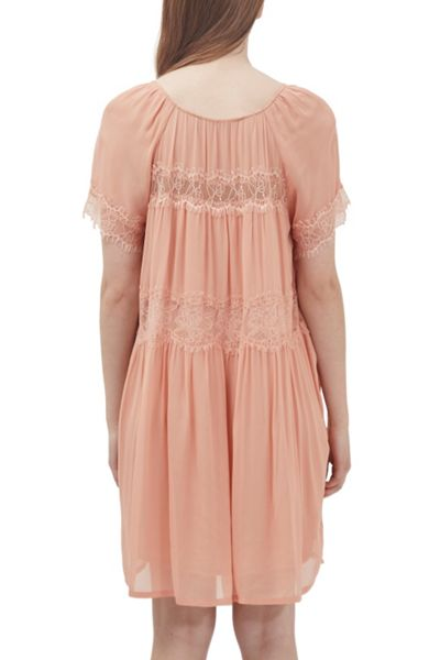 French Connection Rosie Drape Babydoll Dress