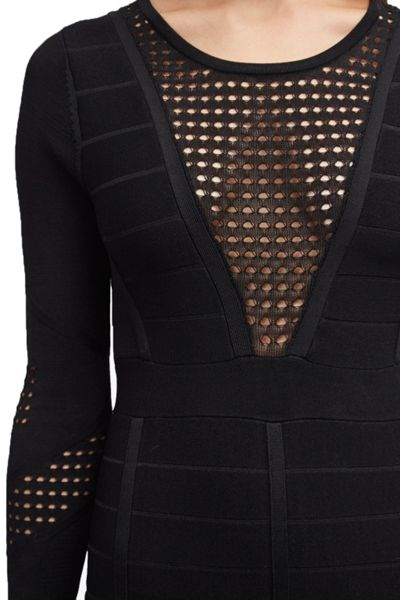 French Connection Duo Danni Knits Bandage Dress