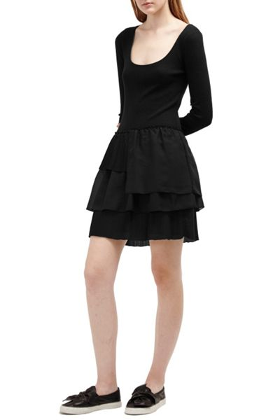 French Connection Tommy Rib Layer Dress