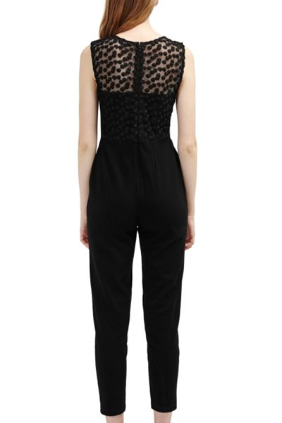 French Connection Chelsea Beau Sleeveless Jumpsuit
