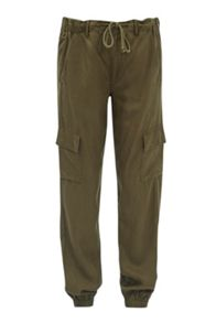 French Connection Military Tencel Tapered Trousers