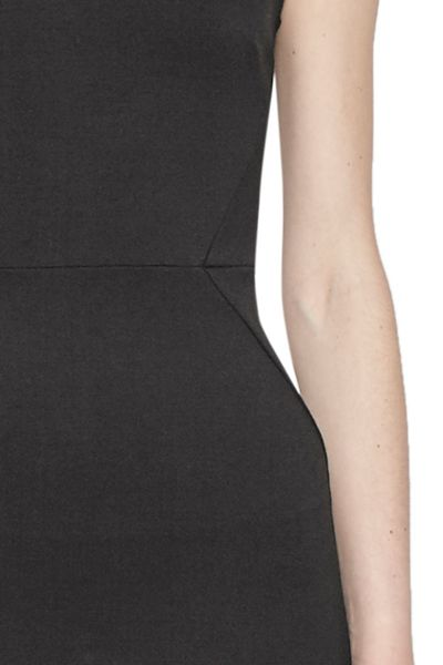 French Connection Lula Stretch Fitted Knee Length Dress