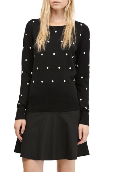 French Connection Polka Dot Knits Jumper