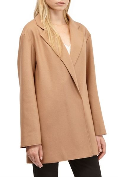French Connection Platform Felt Oversized Coat