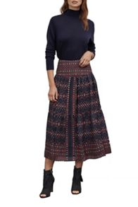 Great Plains Tarim Ladder Lace Maxi Skirt