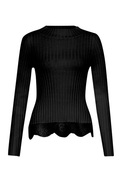 French Connection Nicola Knits Ribbed Jumper