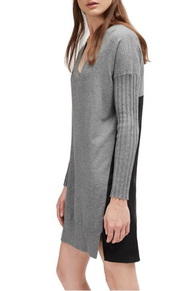 French Connection Aries Knits Wool Jumper Dress