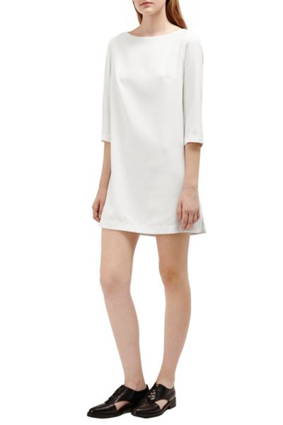 French Connection Arrow Crepe Tunic Dress