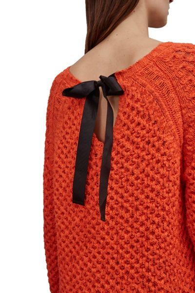 Great Plains Textured Tonic Bow Tie Tunic Jumper