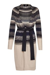 Great Plains Nordic Fair Isle Longline Cardigan