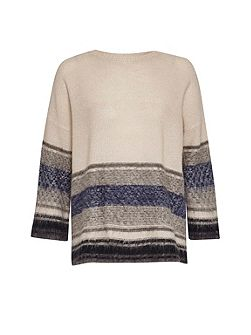 Nordic Fairisle Cropped Jumper