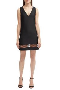 French Connection Clara Eight Hem Detail Dress