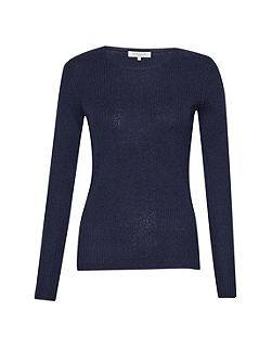 Louis Rib Crew Neck Jumper