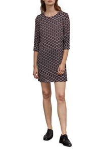 Great Plains Malmo Contrast Belt Tunic Dress
