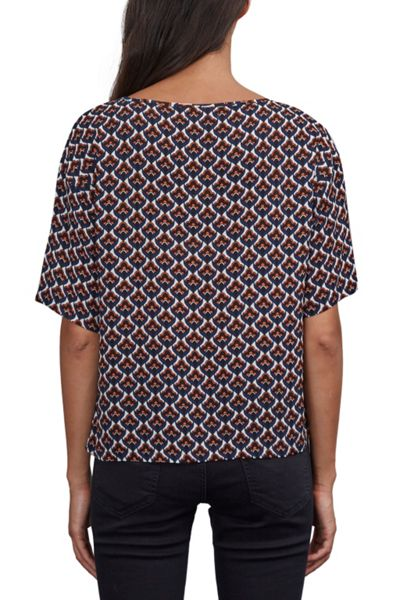 Great Plains Malmo Tile Print Blouse
