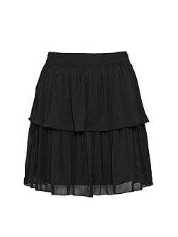 Lizzie Sheer Tiered Skirt
