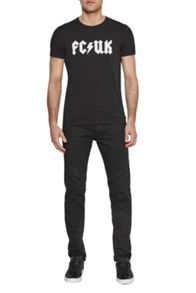 French Connection Rock It Logo T-Shirt