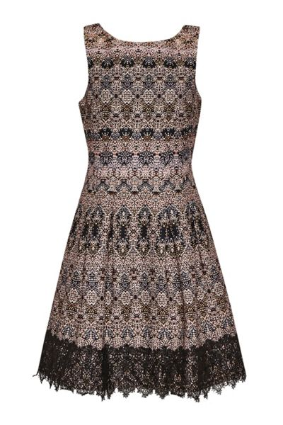 Great Plains Tea Lights Sleeveless Dress