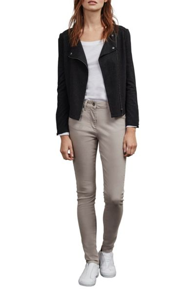 Great Plains Daphne Dapple Jersey Biker Jacket