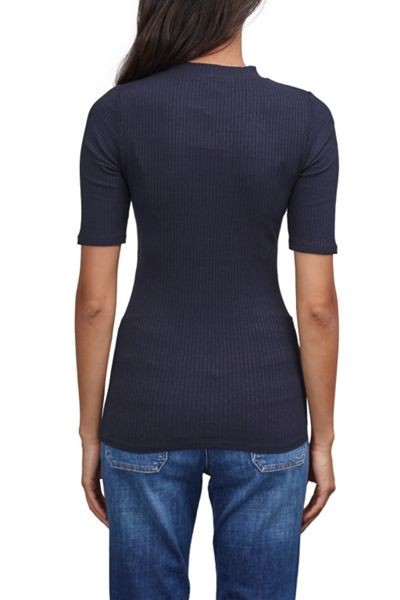 Great Plains Modern Rib High Neck Top