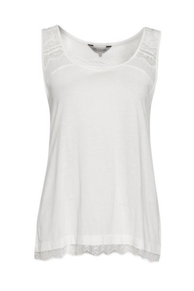 Great Plains Featherweight Jersey Lace Tank Top