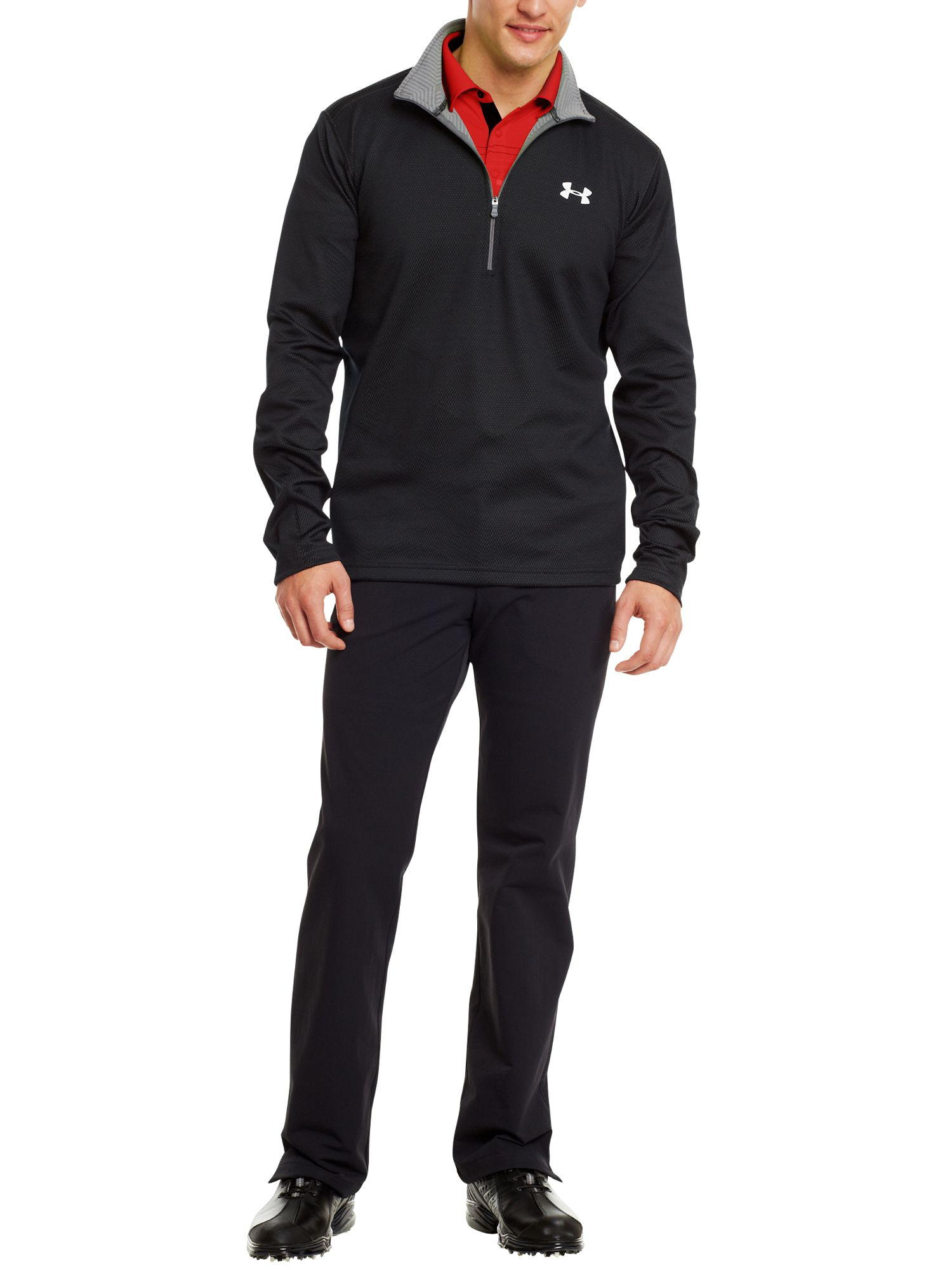 Thermo coldgear infrared golf 1/4 zip