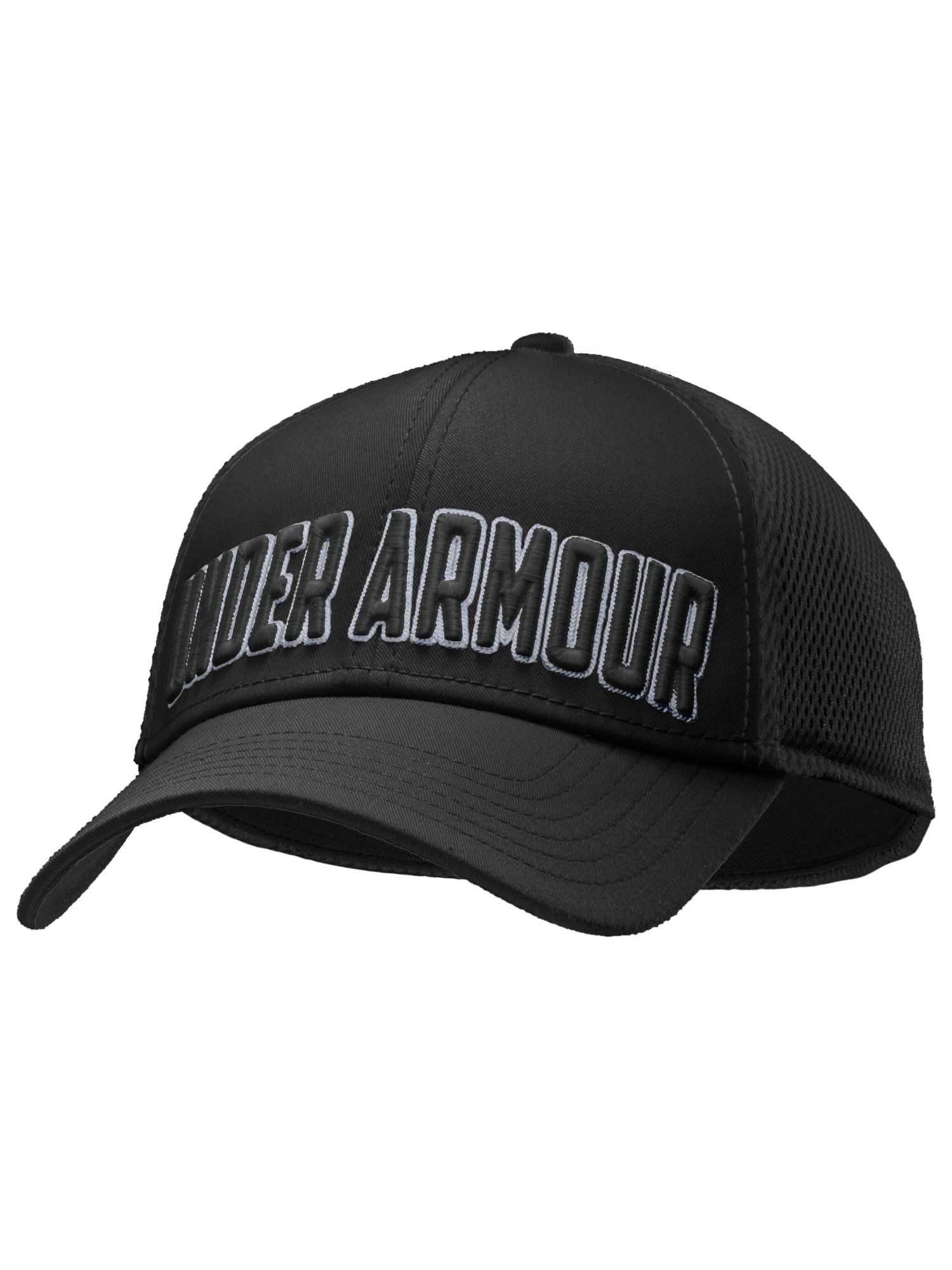 Stand out mesh cap