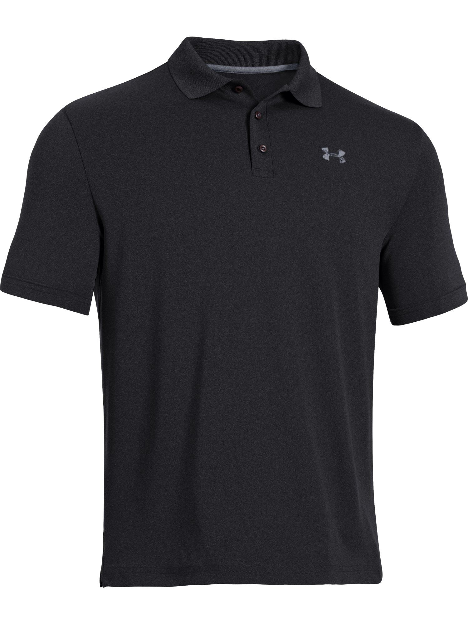 Men's Under Armour Performance Polo, Nearly Black