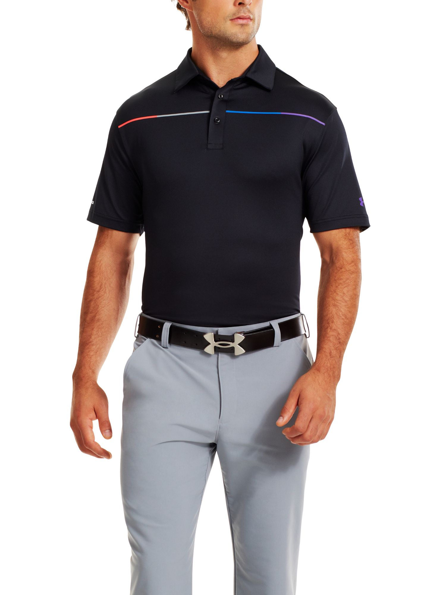 Coldblack chest stripe polo
