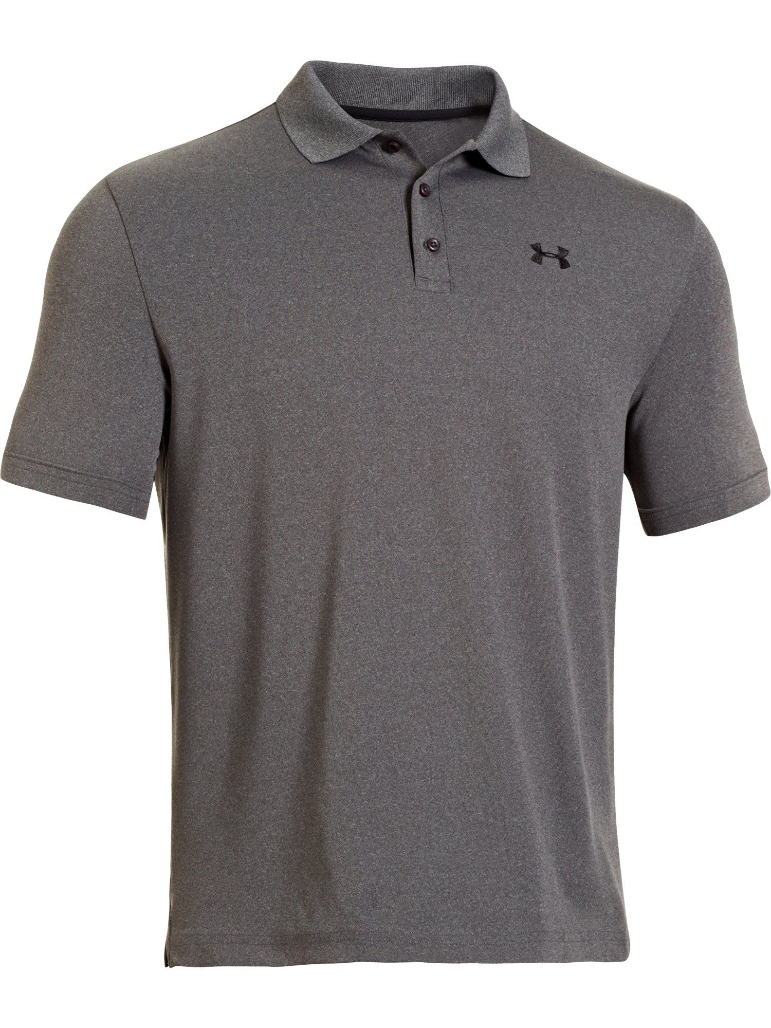 Men's Under Armour Performance Polo, Light Grey Marl