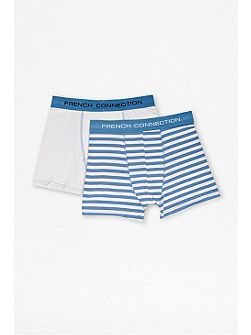 Stripe and plain 2 pack in a pouch