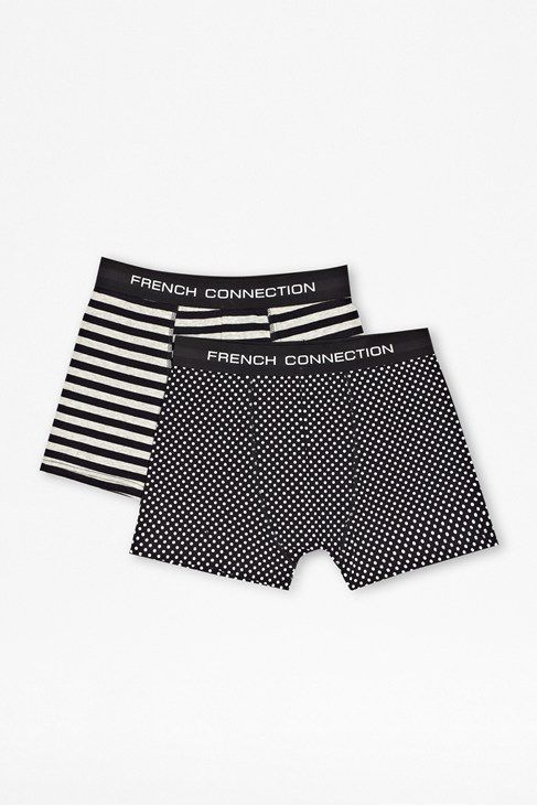 Dot&stripe 2pack trunk in pouch