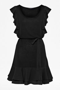 Penny plains fluted sleeve dress