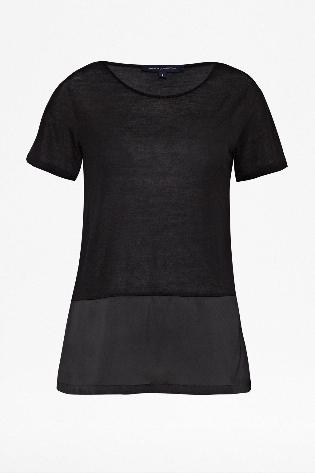Polly plains satin short sleeve tshirt
